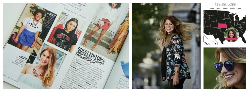 Ashley from Le Stylo Rouge featured in Marie Clare, INK magazine, and as a StyleBlazer