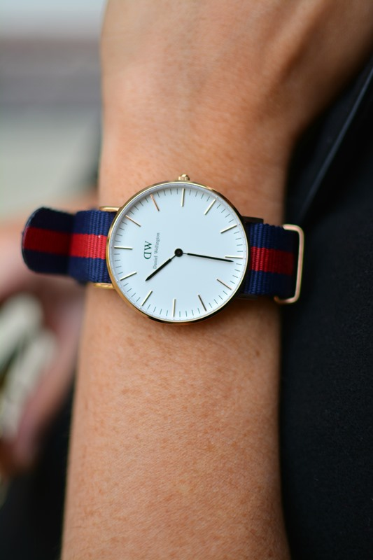 daniel wellington classic oxford watch, ashley from lsr