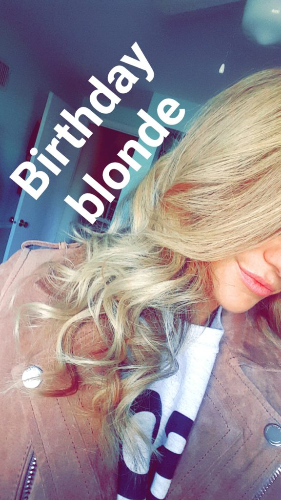Ashley from LSR goes blonde
