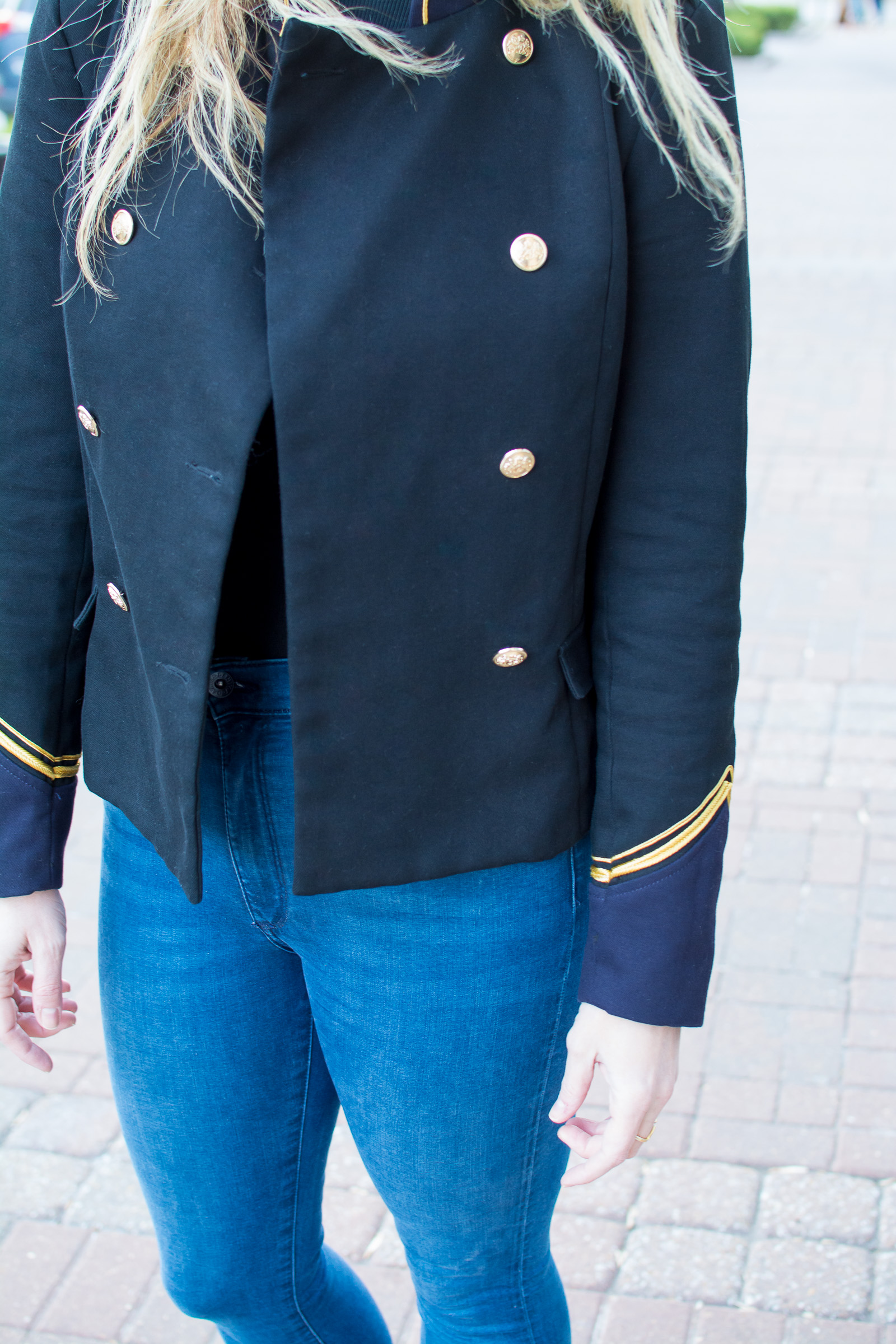 Military Jacket. | Ashley from Le Stylo Rouge
