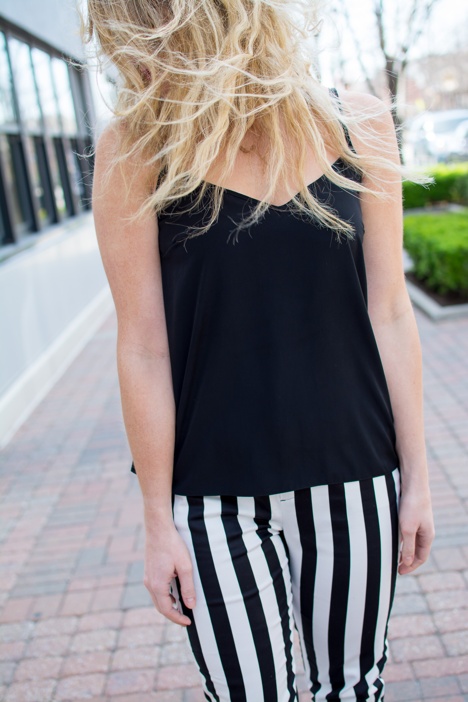 Beetlejuice Striped Pants. | Ashley from Le Stylo Rouge