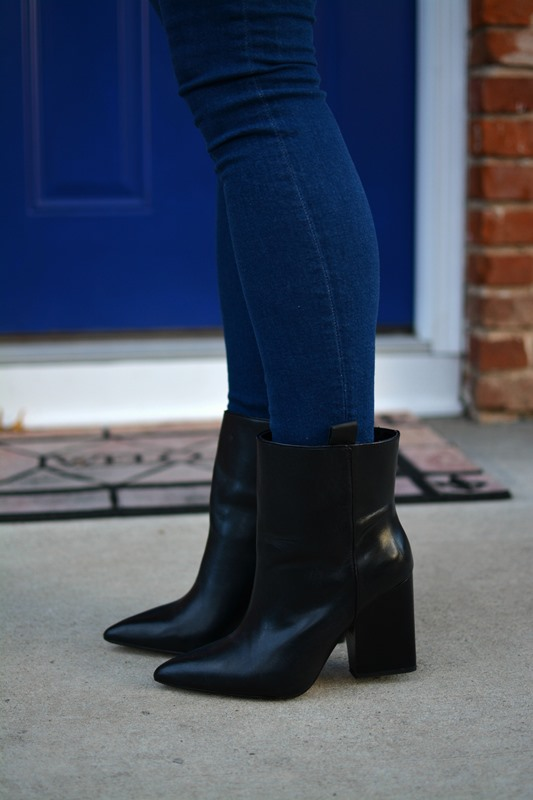 ashley from lsr, asos jeans,  zara boots