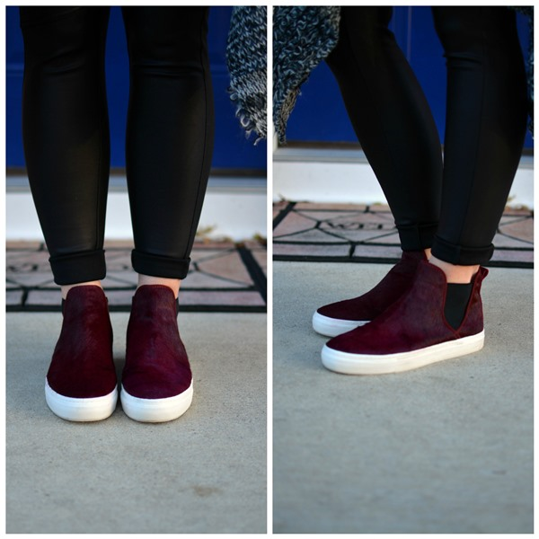 ashley from lsr, zara high top sneakers