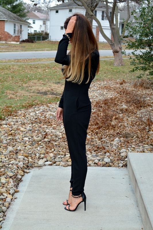 ashley from lsr, weworewhat jumpsuit, asos sandals