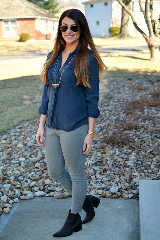 ashley from lsr, black over-sized work shirt, express brushed sateen leggings, asos epidemic suede boots
