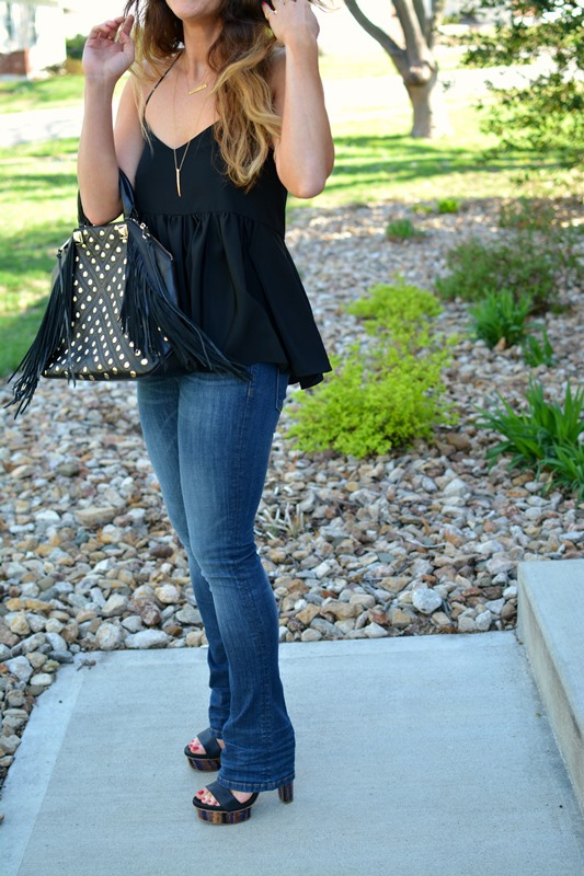 ashley from lsr, tibi silk ruffle tank, baldwin denim,  rebecca minkoff rylan tote