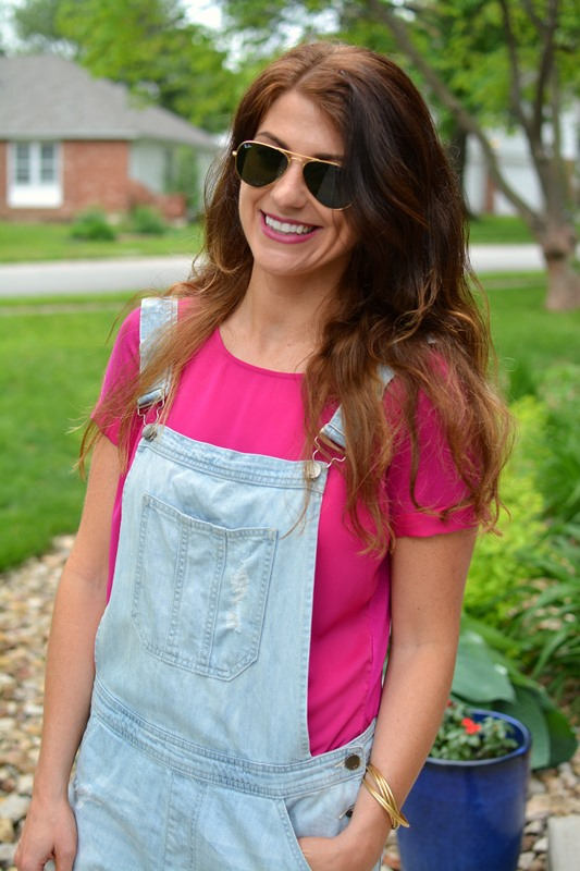 ashley from lsr, asos overalls, sioni tulip team up blouse, rope wedges