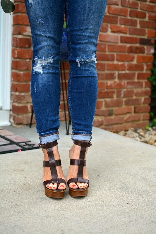 ashley from lsr, gladiator platform sandals