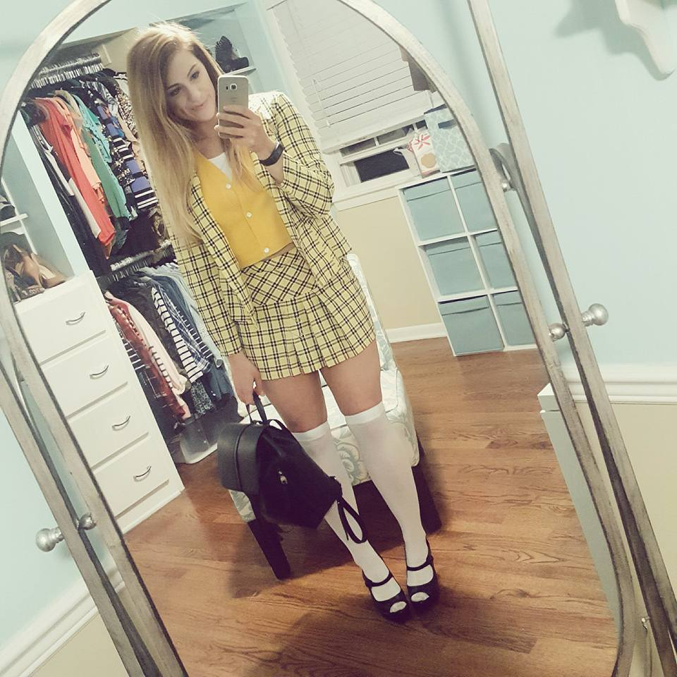 Ashley from LSR as Cher Horowitz from Clueless