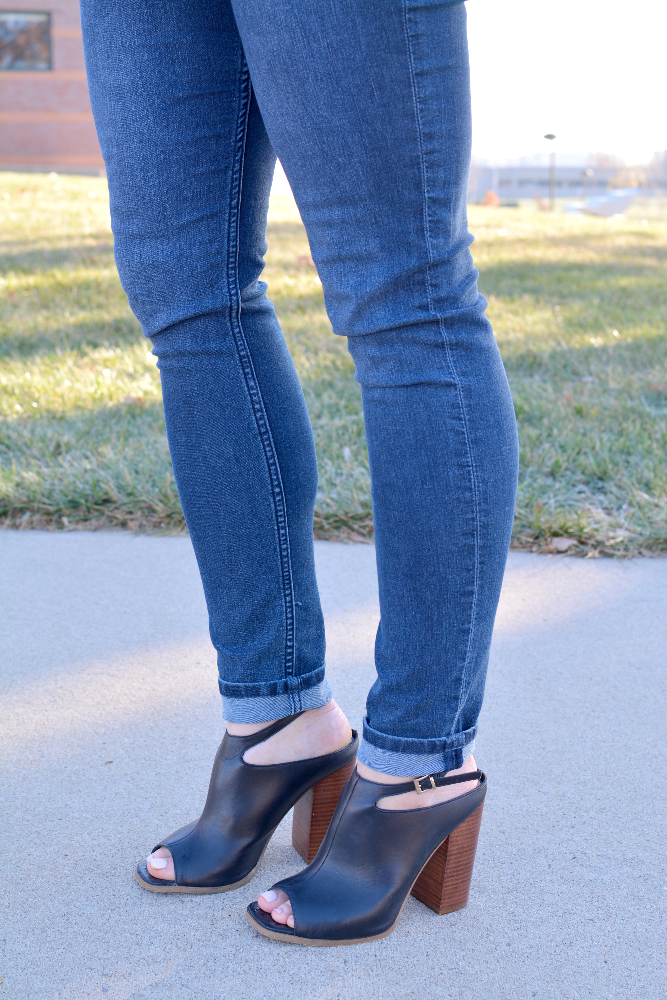 Ashley from LSR in leather mules