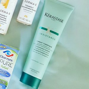 Ashley from LSR sharing the Star Studded Style Secrets Babbleboxx: Kerastase leave-in primer