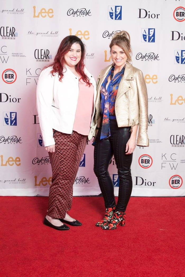 Ashley from LSR at Kansas City Fashion Week