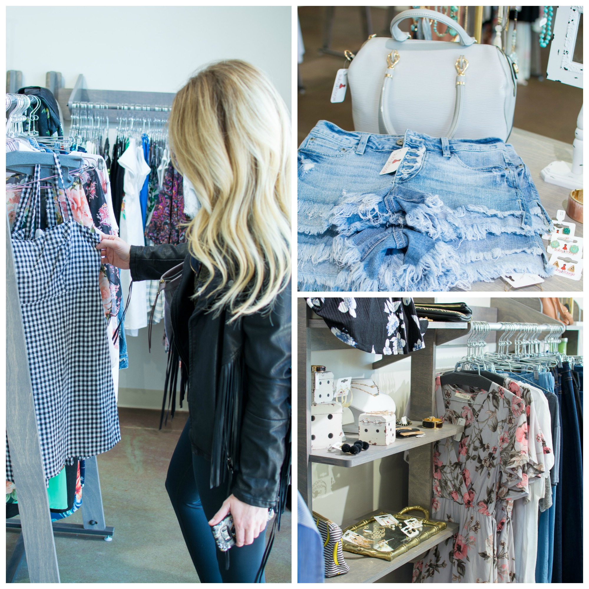 Shopping at Boutique Collective at The Village at Briarcliff. | Ashley from Le Stylo Rouge