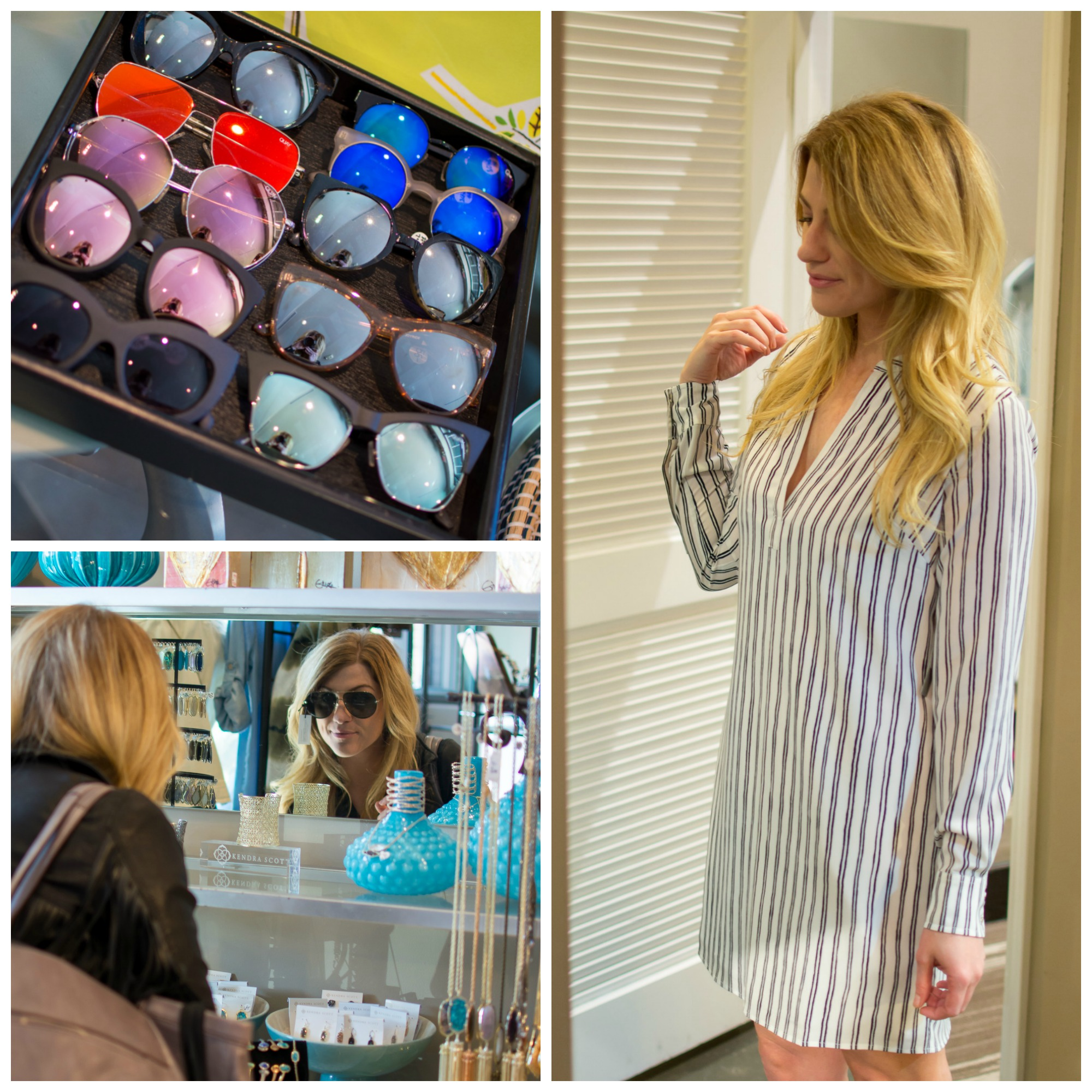 Shopping at Design in the City at The Village at Briarcliff. | Ashley from Le Stylo Rouge