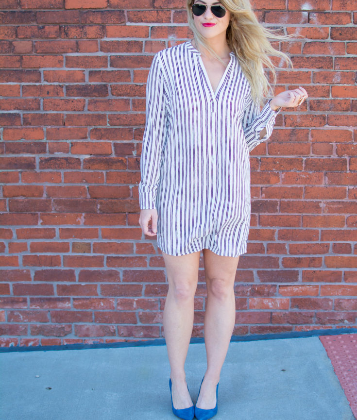 A Spring Dress That Goes Everywhere. | Ashley from Le Stylo Rouge
