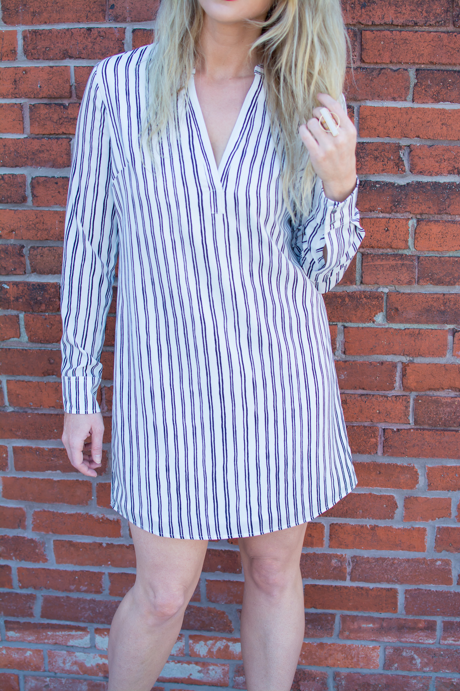 A Spring Striped Dress That Goes Everywhere. | Ashley from Le Stylo Rouge