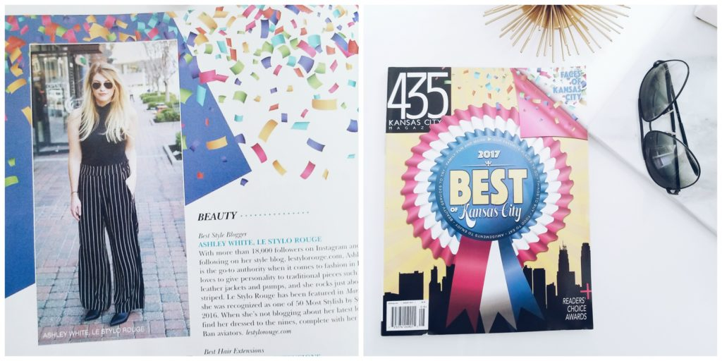Ashley in the 435 Magazine Best of KC issue