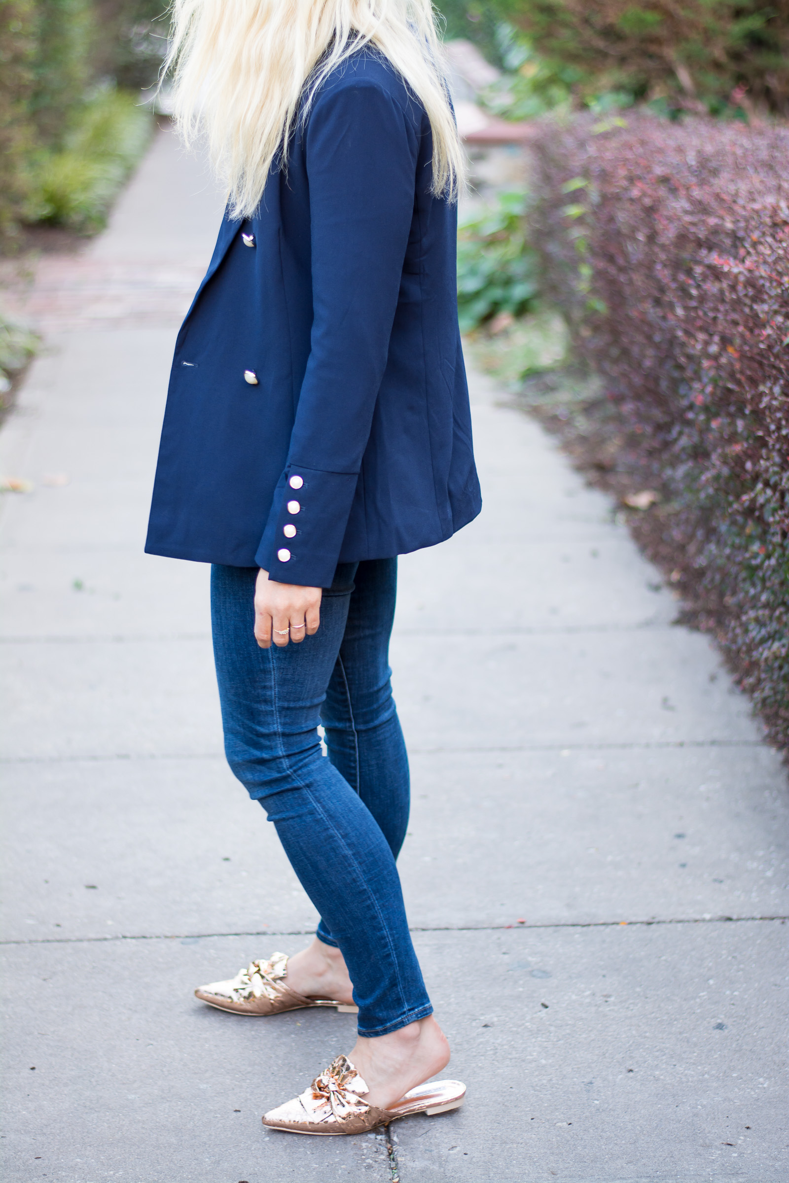 How to Remix Your Jeans and Sweater. | Ashley from LSR