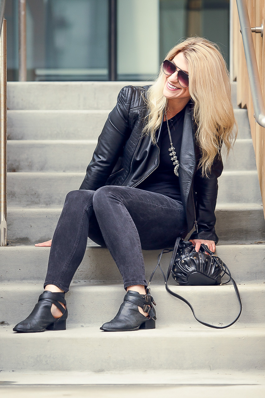 All-black Everything Outfit. | Ashley from LSR