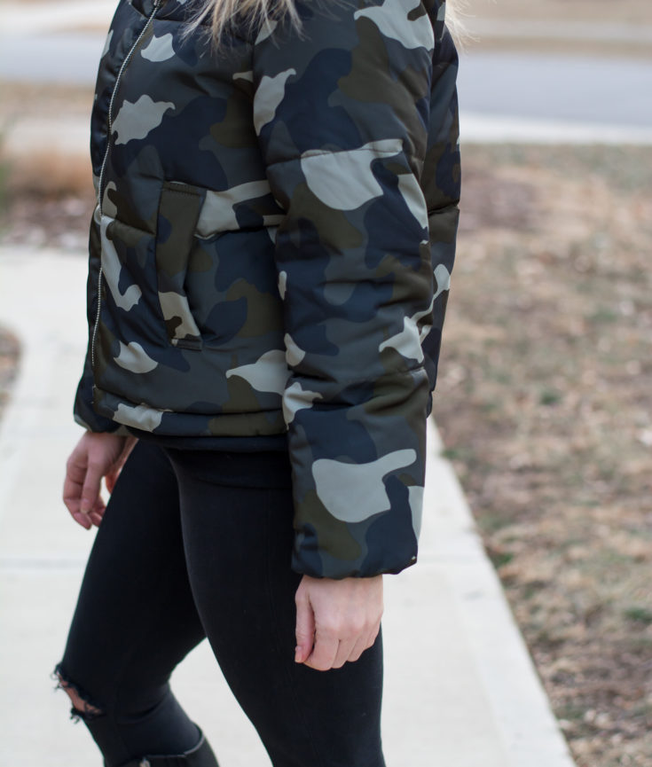 How to Wear a Camo Jacket. | Ashley from LSR