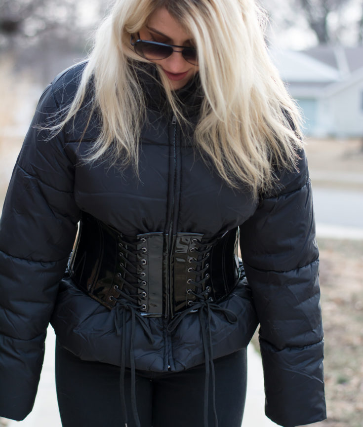 Winter Style: Corset Coat. | Ashley from Le Stylo Rouge