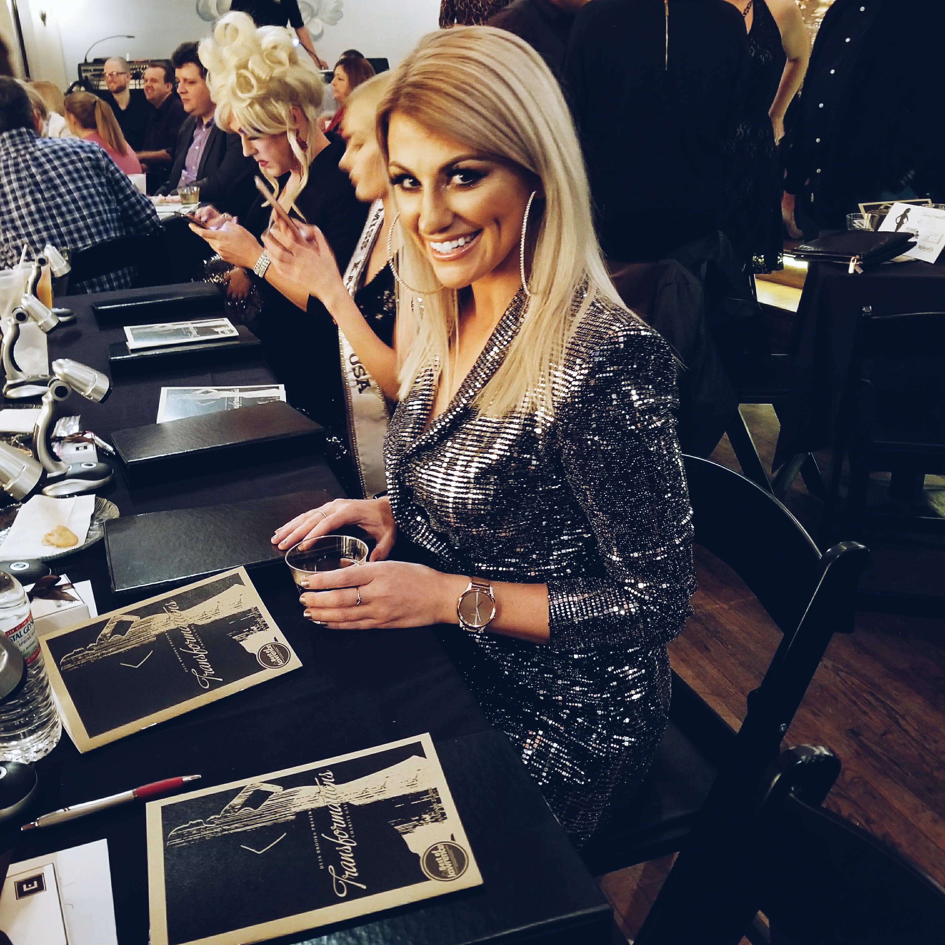 Judging the Transformations Charity Gala + Talent Show. | Ashley from LSR