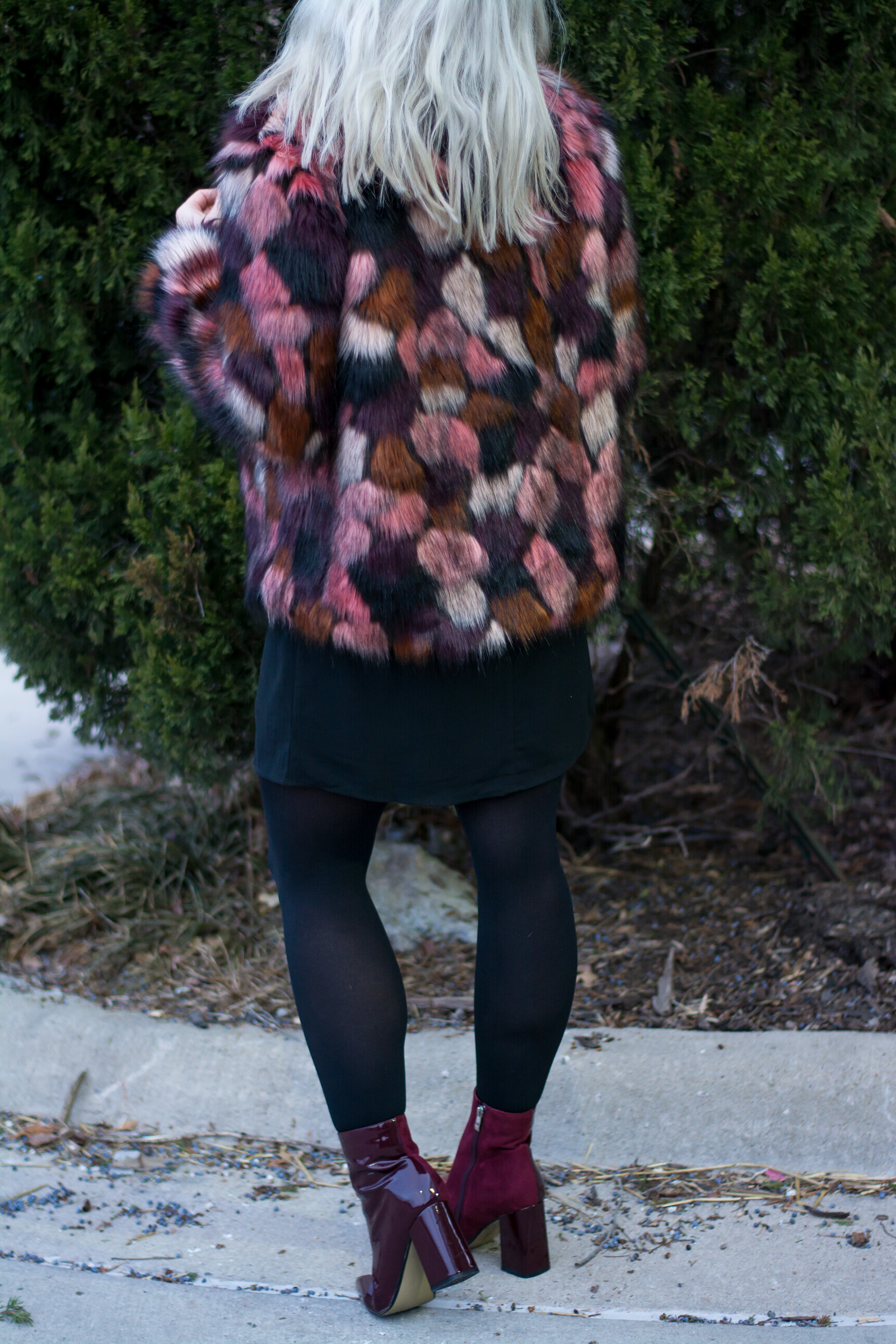 Dressing Up in Faux Fur for Valentine's Day. | Ashley from LSR